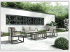 Meubles extérieurs en aluminium de la nouvelle conception 2015