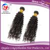 Малайзийские выдвижения человеческих волос курчавых волос девственницы Remy (HKCM-224)