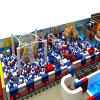 2016 جديدة تصميم يستعمل أطفال قرصان سفينة ملعب لأنّ عمليّة بيع