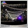 Al aire libre de la calle gigante Decoración de Christams LED de luz Skylines Morden