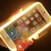 Éclairage disponible de Lumee LED de prix usine d'OEM vers le haut de cas de Selfie pour l'iPhone 4.7 pouces et 5.5 pouces
