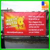 Bannière adaptée aux besoins du client de câble de vinyle de tissu de PVC pour la publicité extérieure