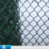 Frontière de sécurité enduite de maillon de chaîne de treillis métallique de fer de PVC de ventes chaudes