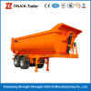 2 Axles/3 Axles Platform Rear Dump Semitrailer Widely Dump Semi Trailer para Sale