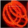 (IP65) 빨강 3 철사 편평한 수직 LED 밧줄 빛 세륨 RoHS를 방수 처리하십시오