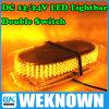 Magnets Emergency Strobe Light Bar 4 Colors LED Warning Light를 가진 DC12V-24V LED Lightbar 240 LED 18W Beacon Light