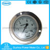 100mm All Stainless Steel with Flange Lower Connection Pressure Gauge