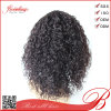 Black Women를 위한 인도 Hair Afro Kinky Curly Full Lace Wig