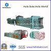 Macchina di plastica della pressa-affastellatrice del cartone di carta semiautomatico idraulico per riciclare