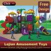 Apparatuur van de Speelplaats van de Kinderen van Ce de Interessante Plastic Openlucht (x1435-8)