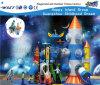 Les enfants de caractéristique de Rocket glissent Playsets extérieur Hf-13302