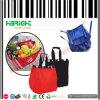 Sac à provisions réutilisable de sac de caddie avec un poly-sac