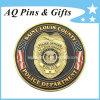 Polizei Challenge Metal Custom Coins Medallion mit Gold Plated