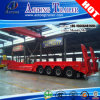 4 essieux 80 tonnes de bâti de remorque inférieure semi, remorque de camion de Lowbed