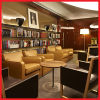 Новый дизайн массивной древесины Отель Public Area Мебель Диван