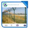 Giardino provvisorio Welded Curved Fence/Bending Triangular Wire Mesh Fence di Decorative con l'iso Certificaiton