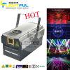 3W RGB Disco-Laser-farbenreicher Animation-Laserlicht-Projektor