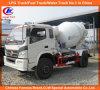 6 rodas 4cbm Mini Cement Mixer Truck Foton Forland Concrete Mixer Truck
