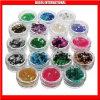 Haustier-Diamant-Funkeln-Puder-Diamant-Regenbogen-Funkeln-silbernes Kristallweiß