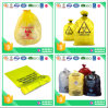 Sac de rebut jaune de Biohazard pour l'hôpital