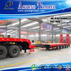80tons Heavy Machine Transport Low Bed Extendable Trailer