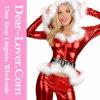 Punky Санта Hoodie Top и Pants сексуальное Christmas Costume