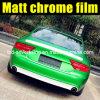 Film mat de vinyle de chrome de nouveau vert d'arrivée