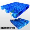 L1200*W1000*H155mm Plastic Pallets; 3 agenten; Open Dek; met de Buizen van het Staal
