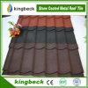 Feuille enduite de toiture de tuile de toit en métal de pierre de matériaux de construction