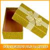 Rectángulo de regalo con diseño de la cinta