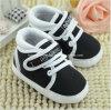 De warme BinnenPeuter van de Schoenen van doek-Soled van de Baby