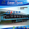 4 반 차축 53ft 콘테이너 수송 평상형 트레일러 트럭 트레일러
