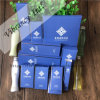 Hohes Hotel-blaues weiches Papierverpackenhotel-Wegwerfzubehör