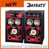 DJ casero acciona el altavoz activo del altavoz para bajas audiofrecuencias estéreo (XD6-6004)