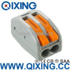 Empurrar IEC60998 o fio do impulso do estojo compato dos conetores do fio