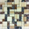 Crystal Mosaic, Cracked Mosaic, Glass Mosaic (HGM283)