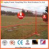 PVC pulvérisant la clôture provisoire soudée en métal