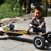 Placa elétrica poderosa do pairo do retrocesso das rodas do skate 4