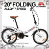 20  vélo se pliant de vitesse de l'alliage 7 (WL-2031A)