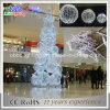 3D LED 장식적인 크리스마스 나무 조각품 주제 나무