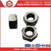 Écrou plat DIN929 de soudure d'acier du carbone/écrous soudure d'hexagone