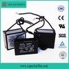 Condensador de Cbb61 450V 6UF para el ventilador de techo