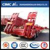 Cimc de Semi Aanhangwagen Lowbed van Huajun 2axle met Aan het licht gebrachte Band
