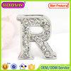 Bracelet (14910)를 위한 도매 Custom Slide Crystal Letter Alphabet Charm