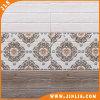 Azulejo de cerámica de la pared del cuarto de baño impermeable de madera de la decoración del material de construcción