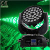 36 10W RGBW LED Moviendo la luz principal