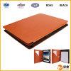 Caisse en cuir de tablette d'unité centrale de chiquenaude neuve d'arrivée pour l'air d'iPad