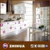 Porta de armário lustrosa da cozinha da flor (ZH-C803)