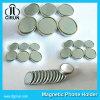 Magnete unipolare di prezzi del diametro 15mm 12mm 10mm del disco del neodimio poco costoso eccellente di figura da vendere