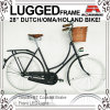 Gezerrte Frame 28  Coaster Brake Stadt Bicycle für Lady (AYS-2828S-10)